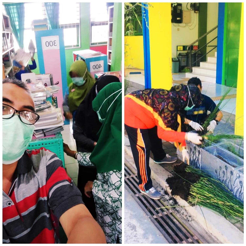 Gerakan Jum'at Bersih MAN 2 Sleman