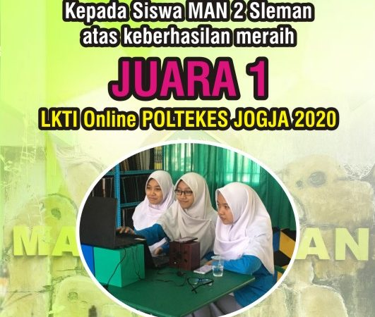 Juara 1 LKTI Online Poltekes Jogja 2020