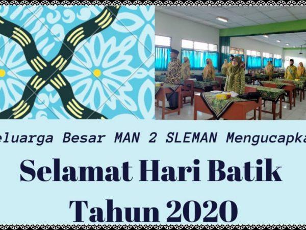Hari Batik Nasional Tahun 2020
